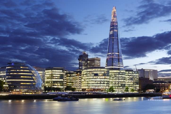 The Shard a Londra, tra le opere più celebri di Renzo Piano