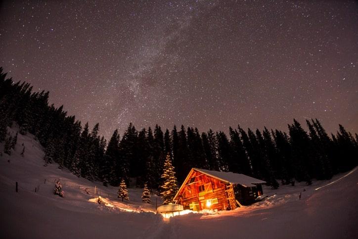 Un fantastico chalet tra le montagne austriache