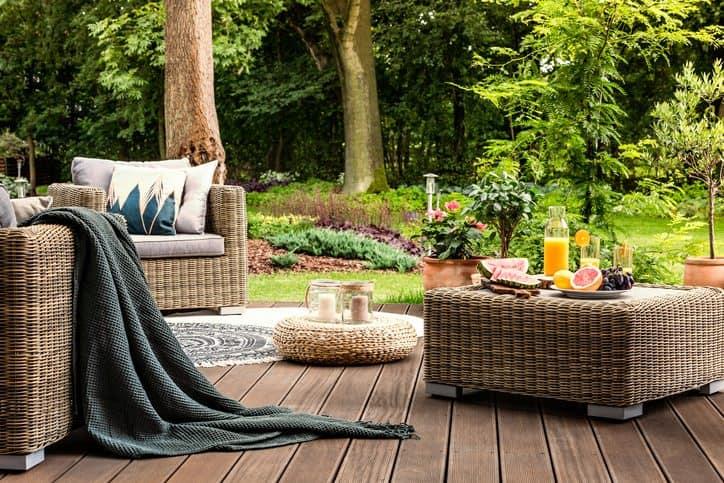 L'arredamento del giardino. Poche regole sempre valide da seguire