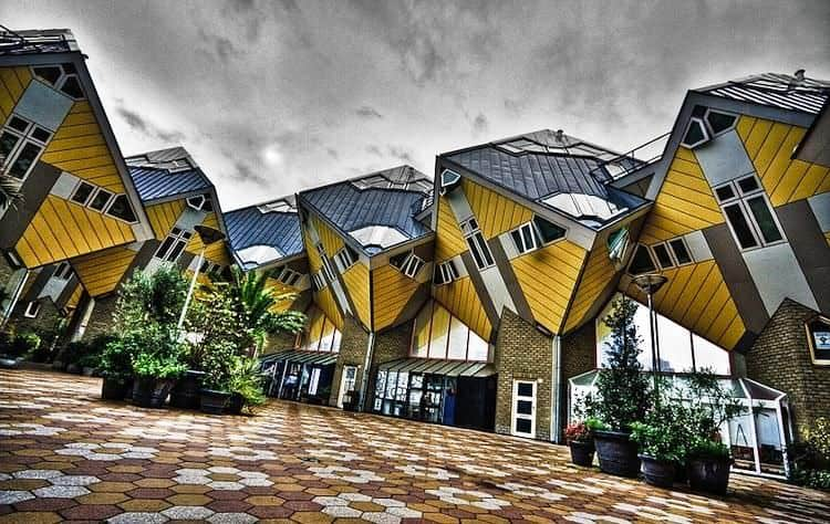 Cube Houses di Rotterdam