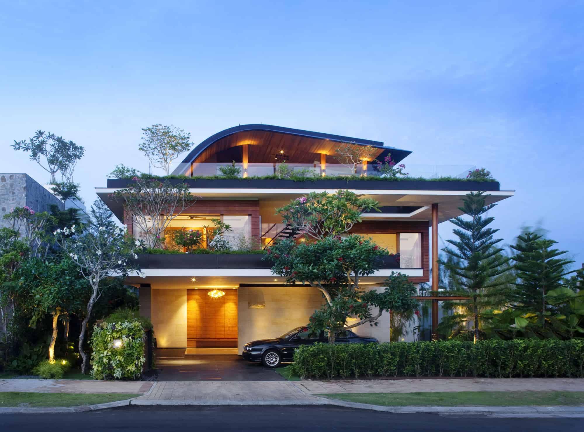 Sky Garden House, tra le ville da sogno più belle