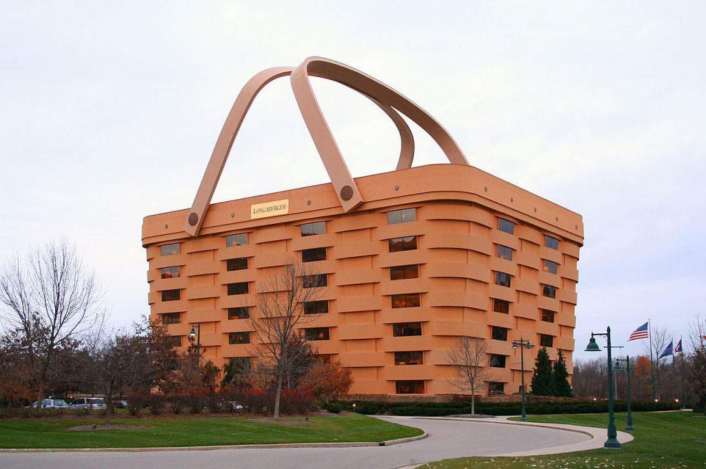 La casa cestino a Ohio