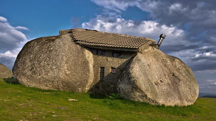 Casa di pietra in Portogallo