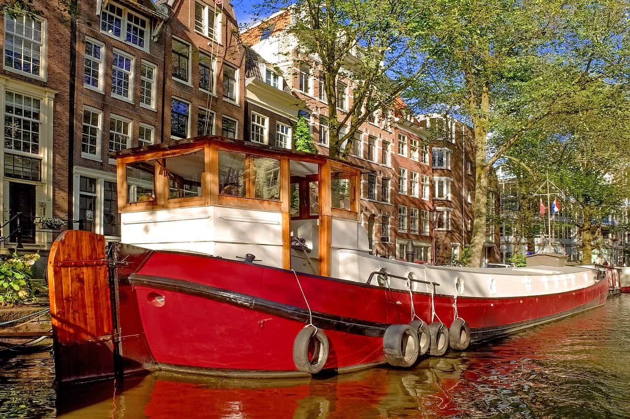 Houseboat ad Amsterdam