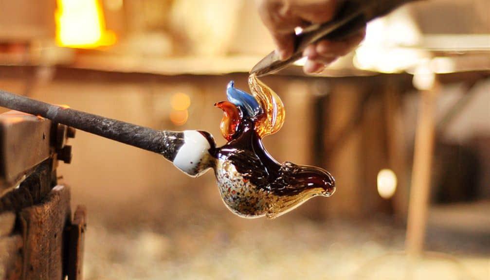 Lavorazione vetro di Murano