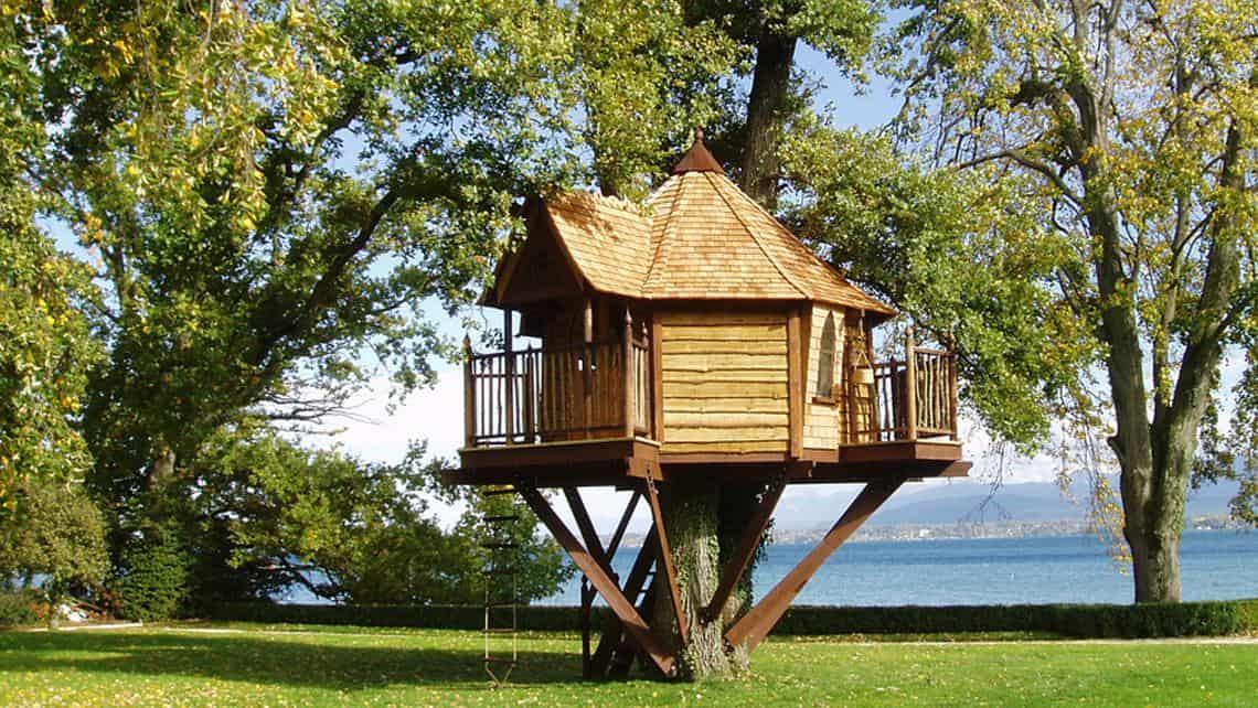 Dormire in una casa sull'albero è sicuramente una esperienza indimenticabile