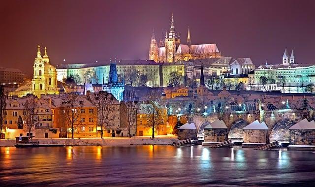 Il Castello di Praga è una delle strutture più importanti della Repubblica Ceca