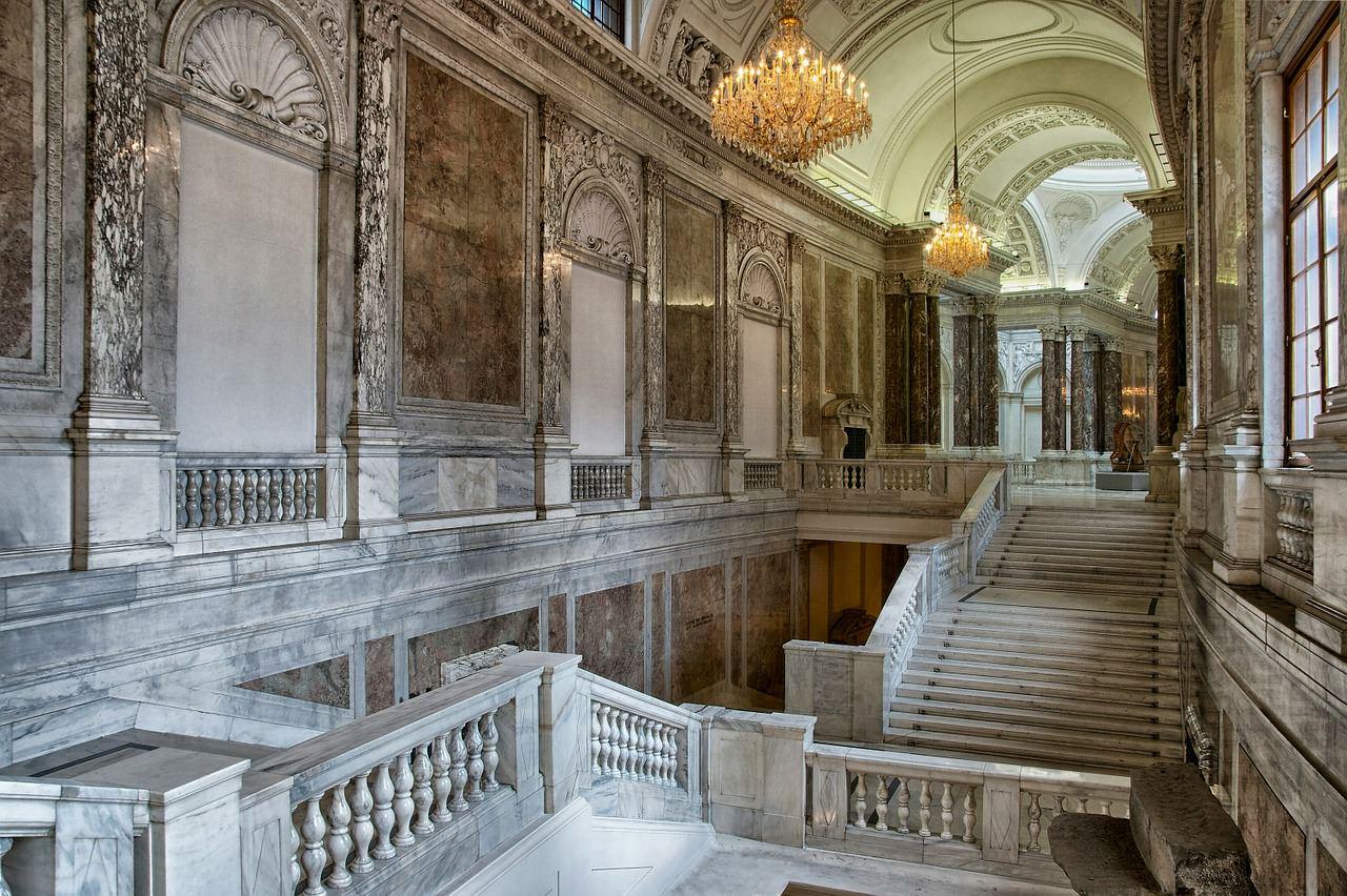 Nel castello di Sissi a Vienna, l'imperatrice si rifugiava nei suoi appartamenti che ancora oggi sono visitabili