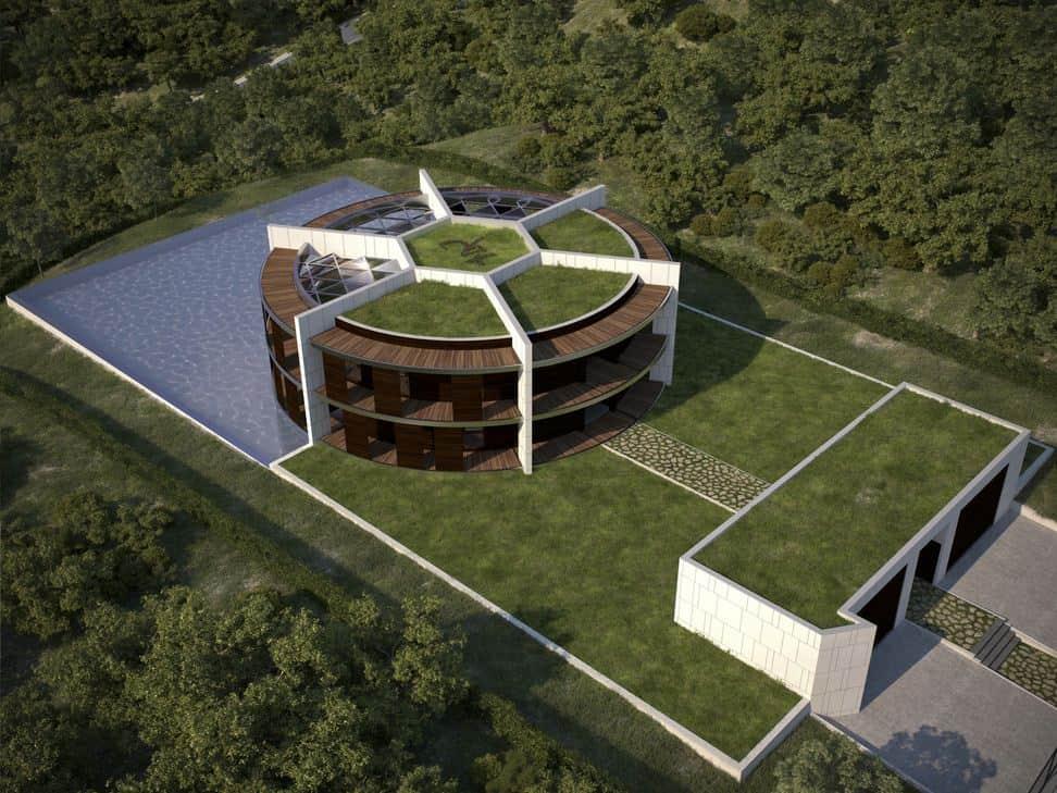 La casa di lusso di Lionel Messi