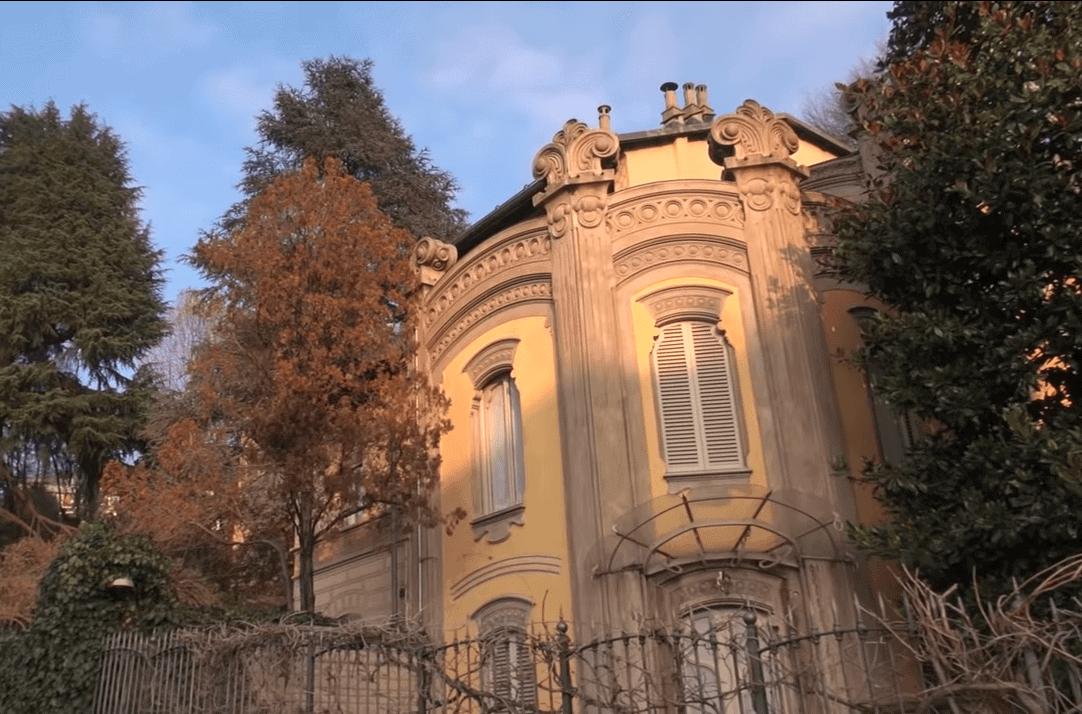 Scorcio di Villa Scott