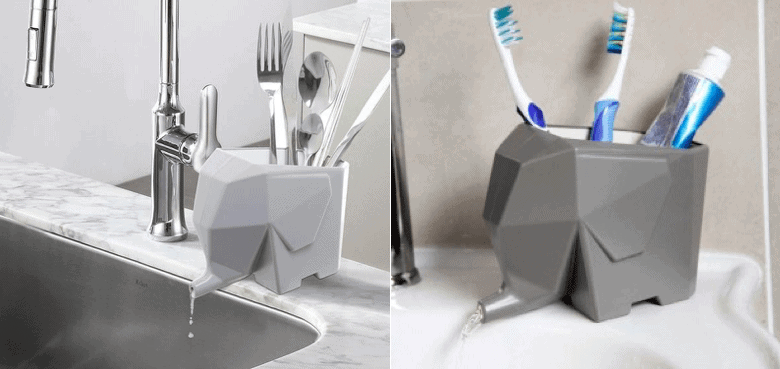 Elefante scolaposate per cucina... E bagno