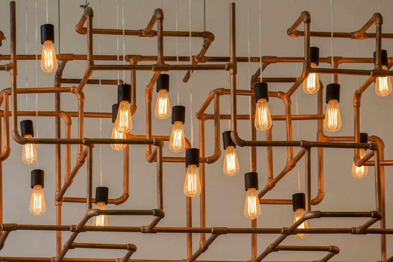 Le luci possono rivelarsi straordinari dettagli di design
