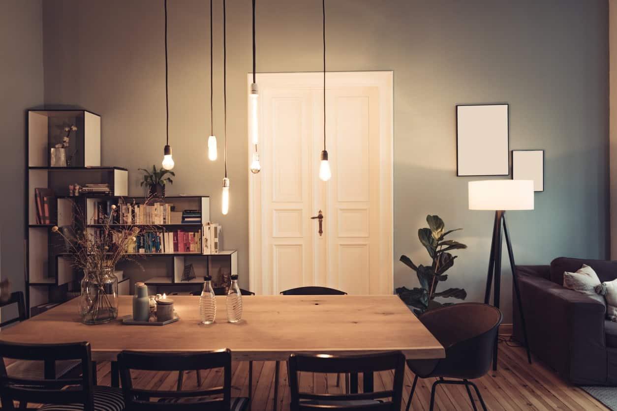 Illuminazione design per il living