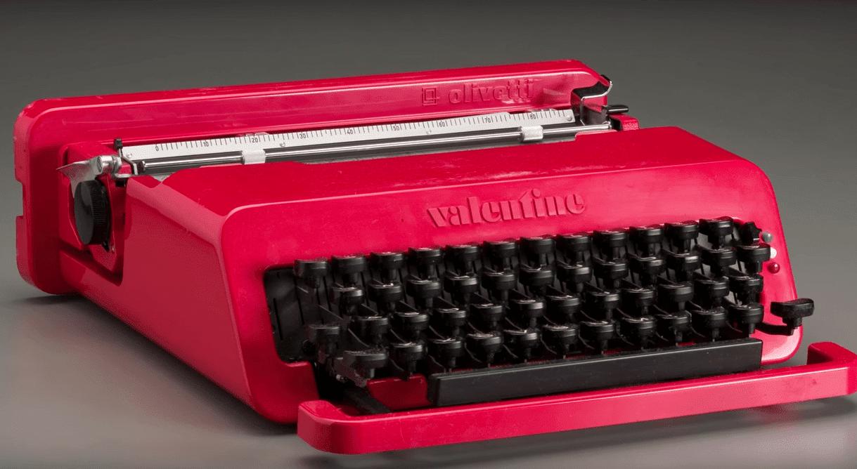 Valentine Olivetti, ideata da Ettore Sottas