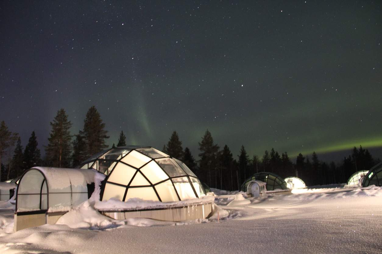 Igloo in Finlandia