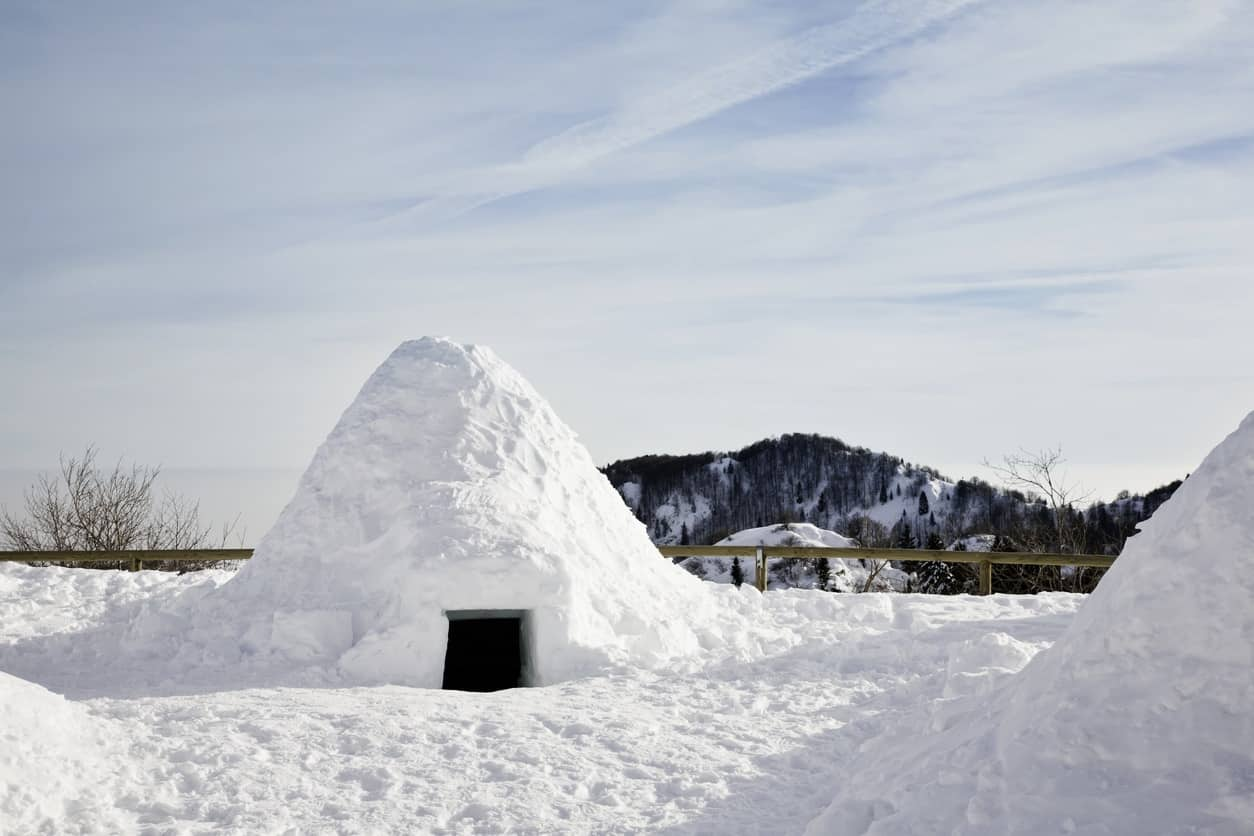 Igloo hotel in Italia