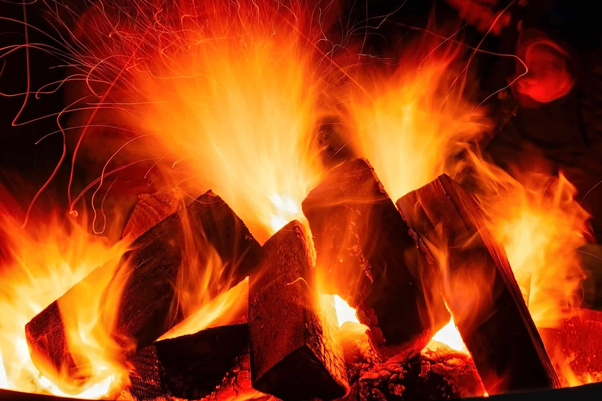 impianto di riscaldamento a legna