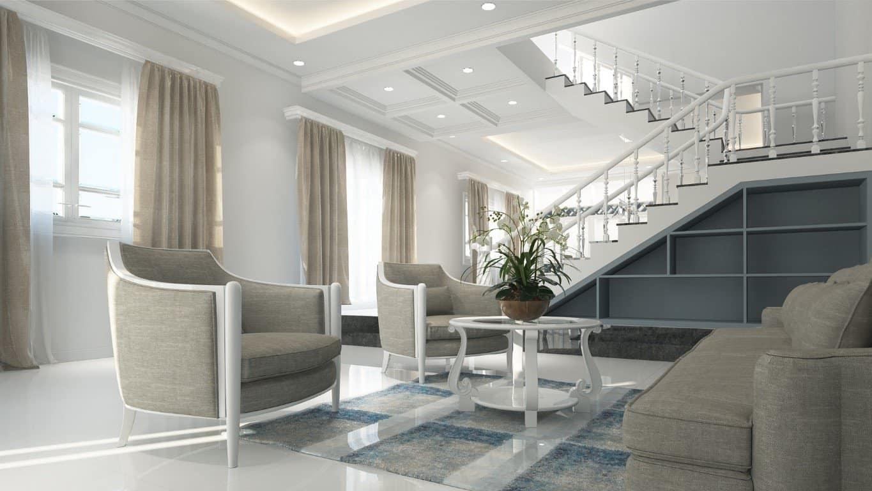 idee controsoffitti cartongesso soggiorno